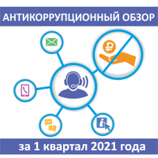 Антикоррупционный обзор за 1 квартал 2021 года